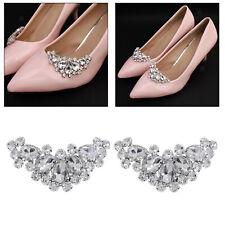 Pedrería cristal zapato clips mujeres bodas botas Charms joyas Dekor