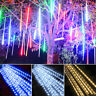 192 288 LEDs Meteor Shower Rain Lights IP65 Icicle Snow Falling String Lights US