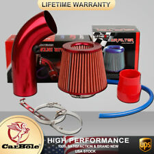 Cold Air Intake Filter Pipe Induction Kit Power Flow Hose System Car Accessories (Fits: Hyundai Elantra)