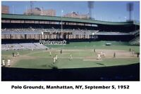 MLB Polo Grounds New York Giants vs Philadelphia Phillies 8 X 12 Photo Free Ship