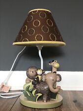 Nursery Lamp Baby Toddler Decor Lambs And Ivey Baby Cocoa Safari Nursery Lamp