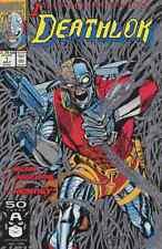 DEATHLOK #1-34 NEAR MINT 9.4 COMPLETE SET 1991 W/ ANNUAL #1 & 2 MARVEL COMICS