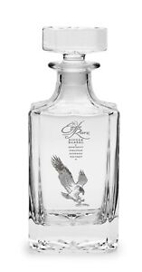EAGLE RARE Collectible Whiskey Decanter