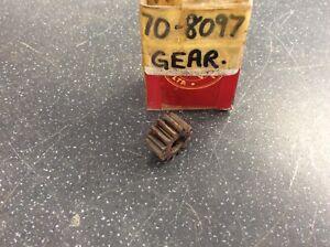 Triumph Bsa Oil Pump Gear 14t 3/8 Wide 70-8097 41-0605 Genuine Nos