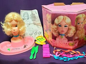 1972 BARBIE Beauty Center in Box with Instructions, Accessories USED