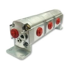 Geared Hydraulic Flow Divider 3 Way Valve 60ccrev Without Centre Inlet