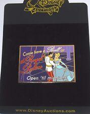 Rare New Le 100 Disney Auction Pin✿Cinderella Postcard Royal Palace Have a Ball