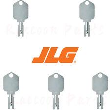 5pcs Jlg Forklift Ignition Keys 77384578 Match With Jlg Ignition Switch 91033317