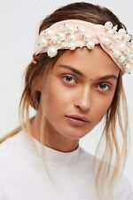 Free People Perfect Party Embellished Headband Pink Rhinestone NWT