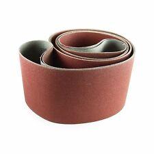6 X 89 Inch 100 Grit Aluminum Oxide Multipurpose Sanding Belts, 2 Pack