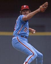 1980 Philadelphia Phillies STEVE CARLTON Glossy 8x10 Photo Baseball Print Poster