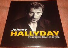 SCELLE// JOHNNY HALLYDAY CD PROMO  EDITION ORIGINALE MA RELIGION DANS SON REGARD