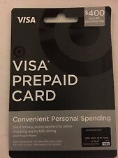 $400 Card By Target, Activated And Ready To Use! Non Reloadable VIS