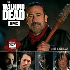 THE WALKING DEAD AMC 2018 CALENDAR - AMC (COR) - NEW BOOK