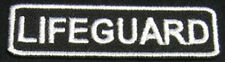 LIFEGUARD Iron-on Patch/Badge for T-Shirt Hat Cap Bag Beach Rescue 25P