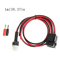 1M Short Wave 30A Fuse Power Supply Cable Cord For Yaesu FT-857D/897D IC-725A