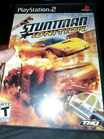 Stuntman: Ignition PS2 (Sony PlayStation 2, 2007) Complete Racing Game TESTED