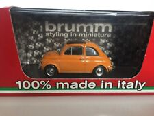 BRUMM 1:43 Fiat 500L chiusa 1968-1972 Giallo positano R465-04