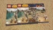 Lego Star Wars AT-AP Walker 75043 Instruction Manuals 1 & 2 Only