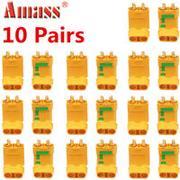 10 Pairs Amass XT90-S Connector Anti-Spark Male Female Adapter for Battery ESC
