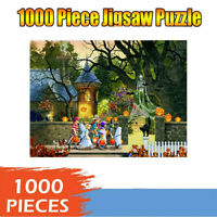 Halloween Theme 1000 Piece Adult Child Jigsaw Puzzle Gift Kids Educational Toy