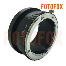 FOTOFOX Adapter for Nikon F Mount Lens to Nikon Z Full Frame Mirrorless Camera