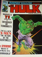 Rampage MAGAZINE mettant en vedette l'incroyable Hulk - No 16 - DATE 10/1979 -