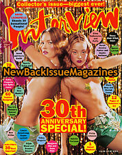 Interview 10/99,Kate Moss,Devon Aoki,30th Anniversary