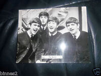 THE BEATLES ORIGINAL OFFICIAL 1963 BREL PHOTOGRAPH FULL GLOSS CS227 BRILLIANT