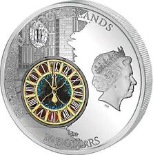 Cook Island 2013 10$ Windows of History - GRAND CENTRAL TERMINAL 50g Silver Coin