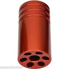 Ruger 10/22 22/45 Muzzle Brake Compensator Threaded 1/2-28 TPI 1022 RED