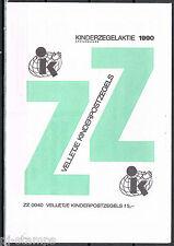 Nederland Blokje 1460 kind 1990 IN ENVELOP