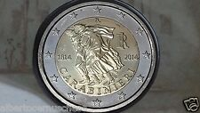 2 euro 2014 ITALIA 200 anni Arma Carabinieri italie italy italien Carabieniers