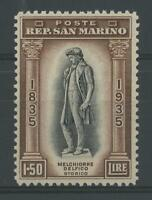 SAN MARINO 1935 DELFICO L.1,50 **