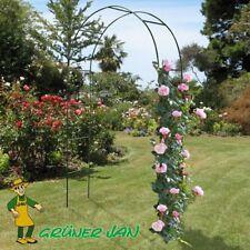 Hi Voûte de rosiers Acier arceau Arche Plantes grimpantes Jardin Terrasse
