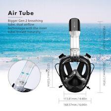 Full Face Mask Adult Swimming Underwater Diving Snorkeling Anti-Fog Snorkel Mask