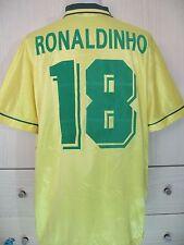 RONALDO LIMA BRAZIL OLYMPIC 1996 UMBRO VINTAGE FOOTBALL SOCCER SHIRT JERSEY L