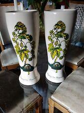 2 Kapuziner Beer Steins Mugs