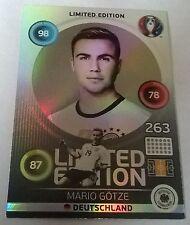 ADRENALYN XL EURO 2016 MARIO GOTZE LIMITED EDITION GERMANY FOIL