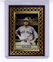 Babe Ruth rookie season '15 Boston Red Sox, Fan Club serial numbered /300