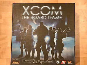 XCOM THE BOARD GAME - NEVER PLAYED