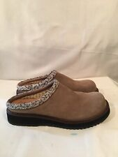 Simple Brand Shoes Naturally Cool Brown Slip-on Clogs Size 8.5