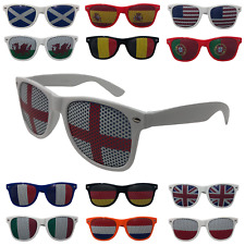 Adults Novelty Country Flag Sunglasses UK Mens Womens England Great Britain USA