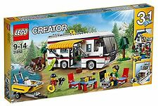 Lego 31052 Creator 3 in 1 Campervan Caravan Boat House Gateway