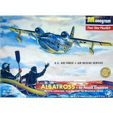 Revell #85-0020 1/72 SA-16B Albatross Air Rescue Amphibian model kit new in the