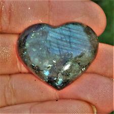 Herzangelegenheit Labradorit Herz Labradorite Edelsteine Nr8 Mondstein Steinherz