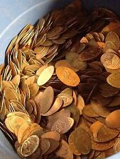 100 x Unsearched Elongated US Cents / Pennies - Large variety - Free Ship
