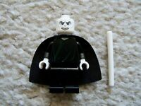 LEGO Harry Potter - Rare - Voldemort Minifig w/ Wand - Excellent From 4842
