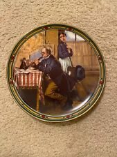 The Musician's Magic by Norman Rockwell Pretty Plate W/Certificate Out of Box