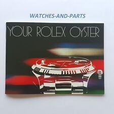 Rolex Your Rolex Oyster Booklet 1982 NEW NOS GENUINE ORIGINAL 100-1.82-579.22Eng